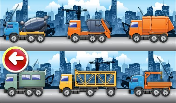 Animated Puzzles trucks cars screenshot 7