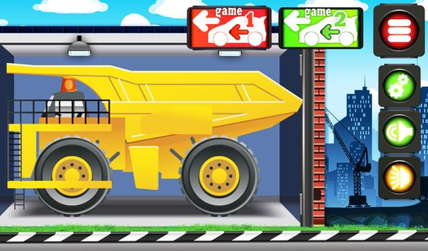 Animated Puzzles trucks cars screenshot 2