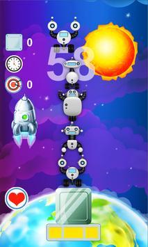Puzzles tower robots apk screenshot