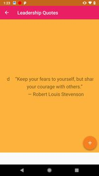 Leadership Quotes screenshot 3