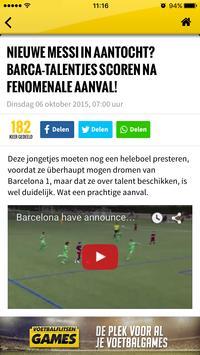 Voetbalflitsen screenshot 2