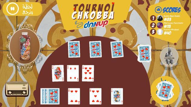 Tournoi Chkobba by Danup screenshot 4
