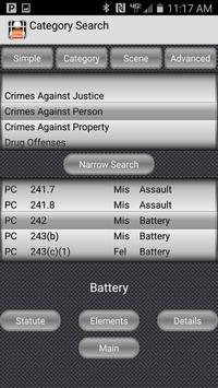 California Crime Finder Pro screenshot 1