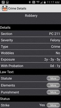 California Crime Finder Pro screenshot 3