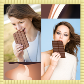 Chocolate Photo Collage icon
