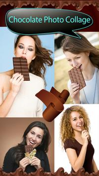 Chocolate Photo Collage poster