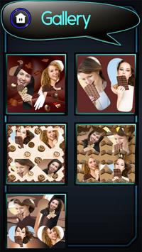 Chocolate Photo Collage screenshot 15