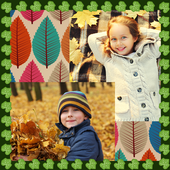 Leaves Photo Collage icon