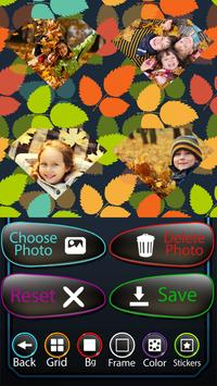 Leaves Photo Collage screenshot 1