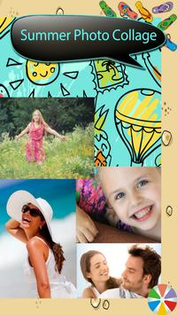 Summer Photo Collage poster