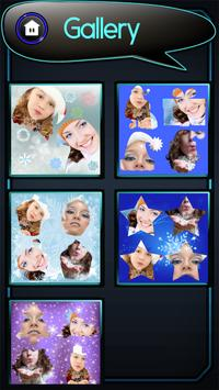 Snowflake Photo Collage screenshot 7