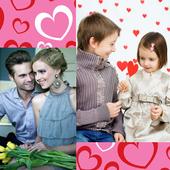 Valentine Day Collage icon