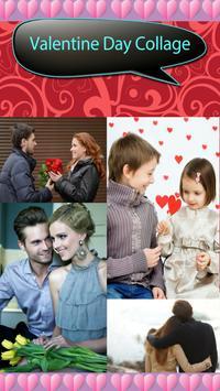 Valentine Day Collage poster