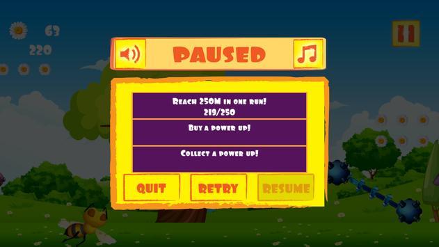 Brave Bee Flight screenshot 11