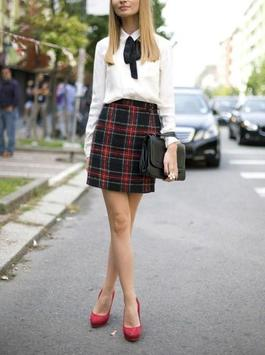 Plaid Skirt Outfit Styles poster