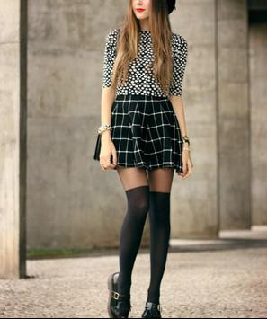 Plaid Skirt Outfit Styles screenshot 11
