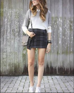Plaid Skirt Outfit Styles screenshot 4