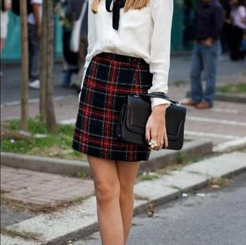 Plaid Skirt Outfit Styles screenshot 9