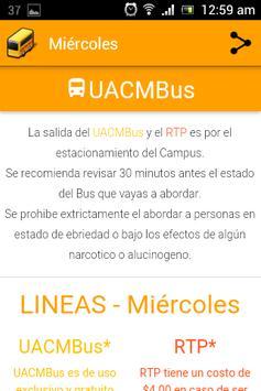 UACMBus screenshot 2