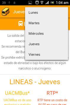 UACMBus screenshot 3