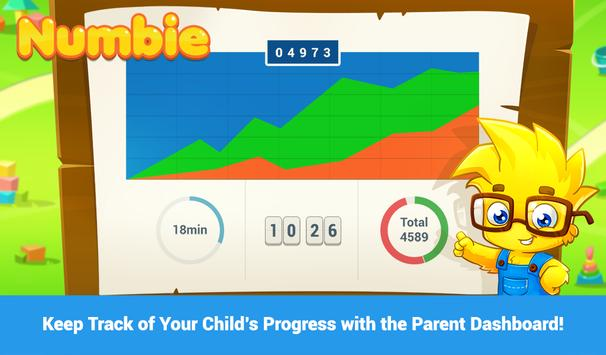 Math for Kindergarten. Numbie screenshot 3