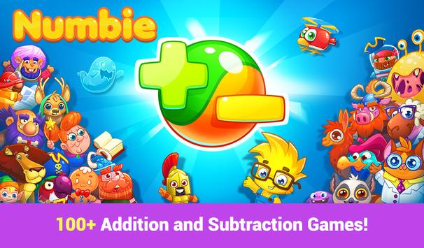 Numbie: Addition & Subtraction poster