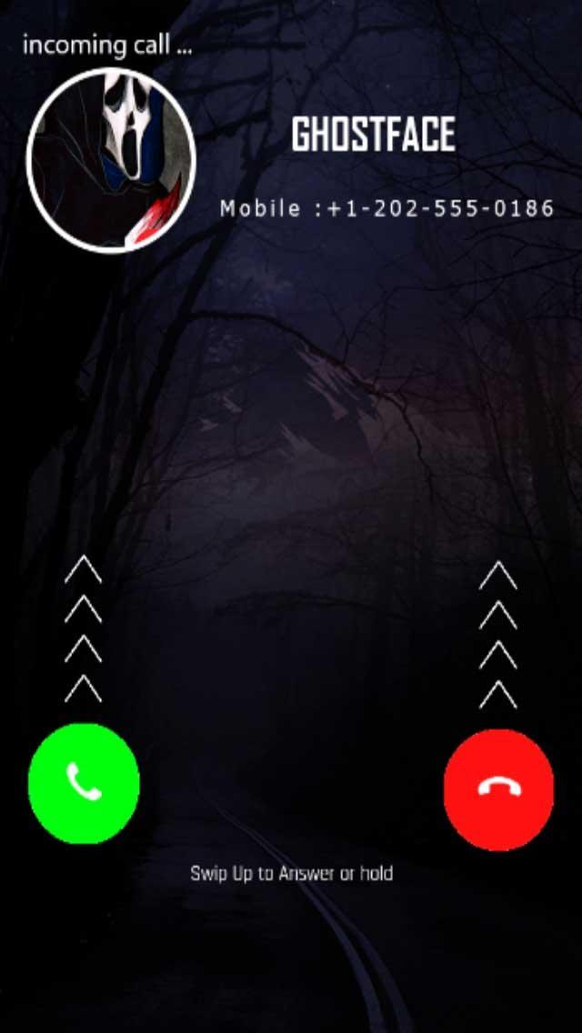 Fake Call From Ghost Face For Android Apk Download