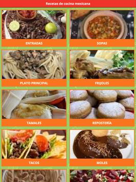Recetas de la Cocina Mexicana screenshot 3