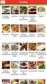 Recetas de la Cocina Mexicana screenshot 1