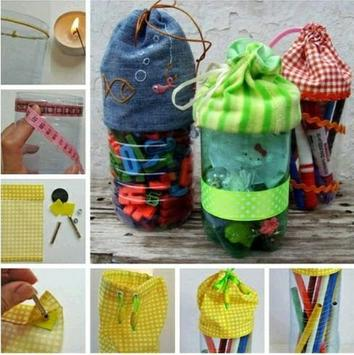 Plastic Recycle Crafts poster