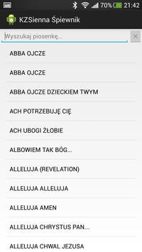 Sienna KZ Śpiewnik screenshot 1