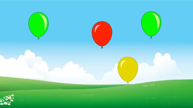 Balloons! (game for toddlers) poster