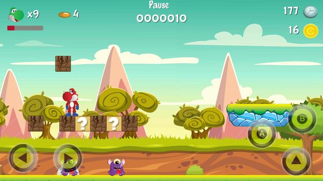 Super Dino World of Mario apk screenshot