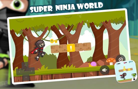 Super Ninja World poster