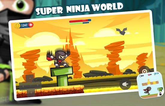 Super Ninja World screenshot 14