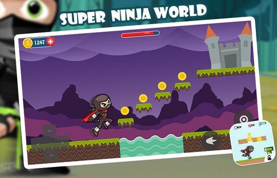 Super Ninja World screenshot 1