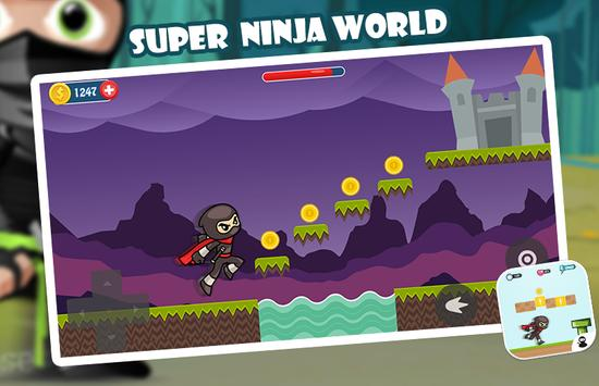 Super Ninja World screenshot 1
