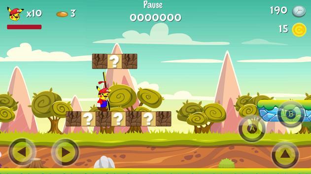 Super Pikachu World of Mario apk screenshot