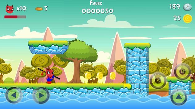 Super Hero Meow World apk screenshot