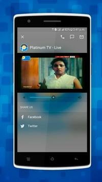 Platinum TV apk screenshot