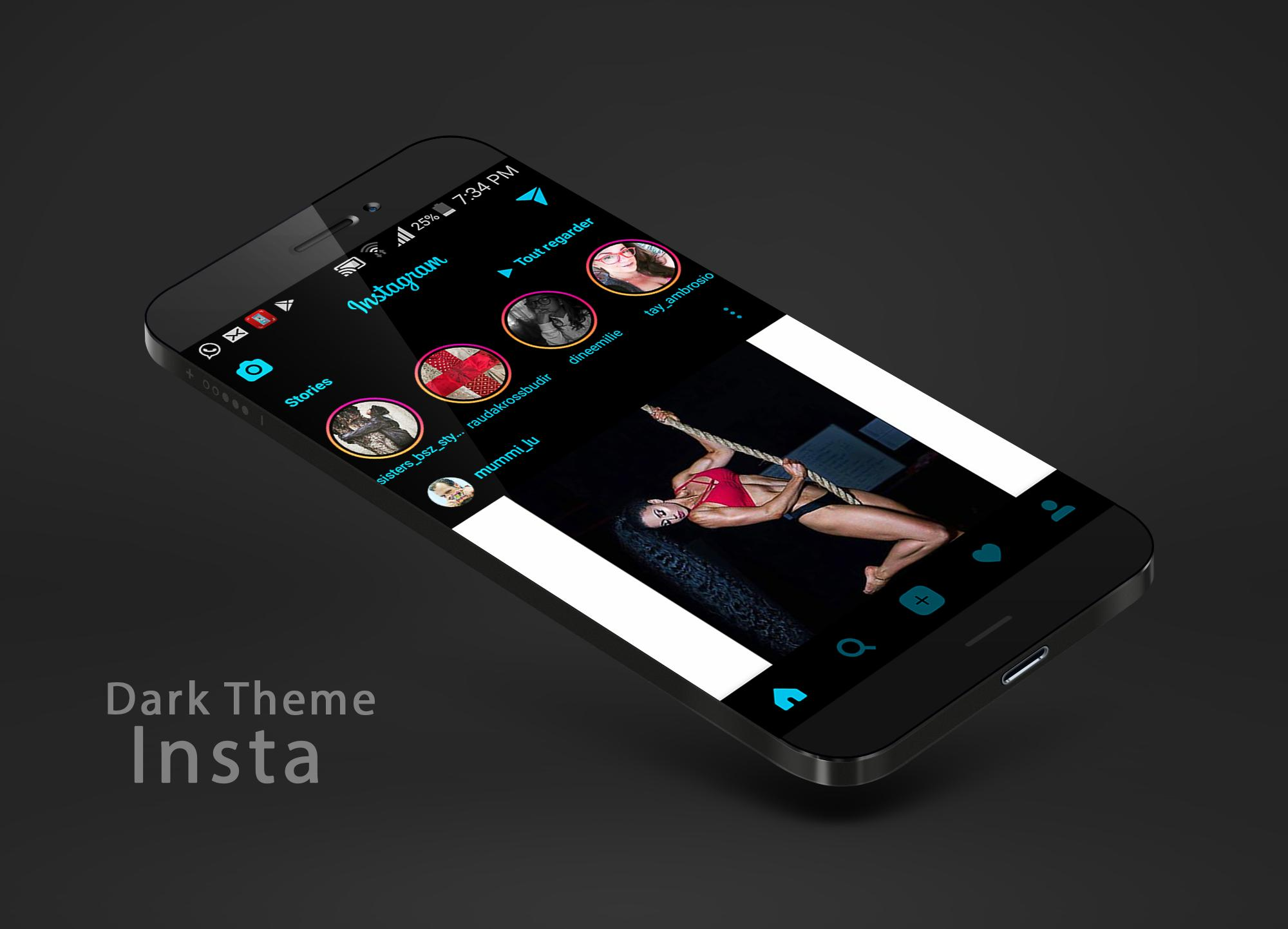 Dark theme for instagram for Android - APK Download