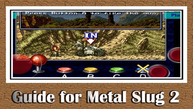 Guide For Metal Slug 2 poster