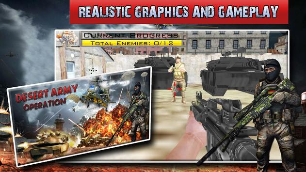 Player Critical Battleground Ops: fps action games poster