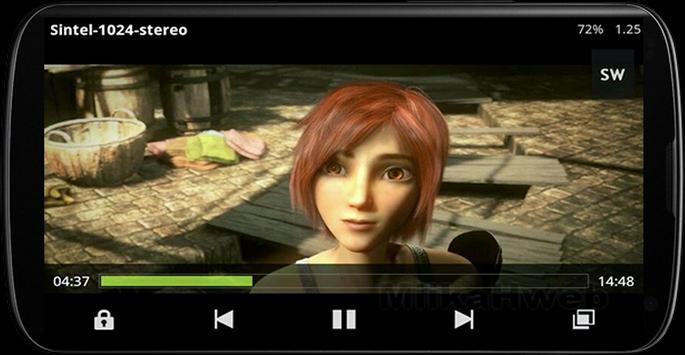 Real Player: Classic Yellow VIDEO apk screenshot