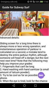 Guide Subway Surf poster