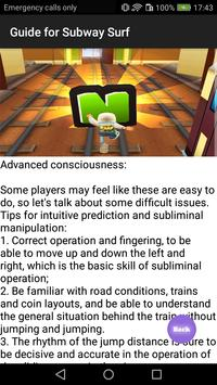 Guide for Subway Surf apk screenshot