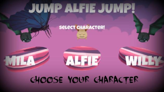 jump Alphie jump! poster