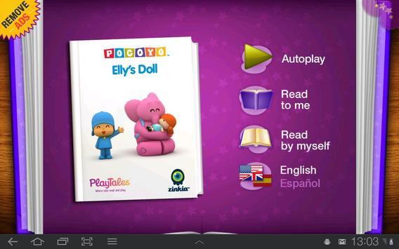 Pocoyo - Elly's Doll poster