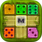 Dominoes Merged: Jungle puzzle game icon