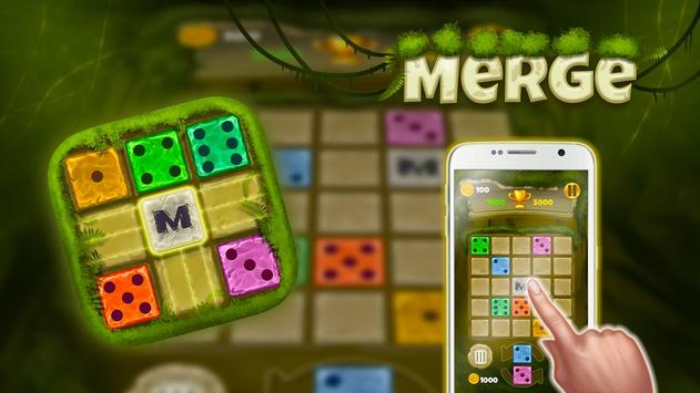 Dominoes Merged: Jungle puzzle game poster